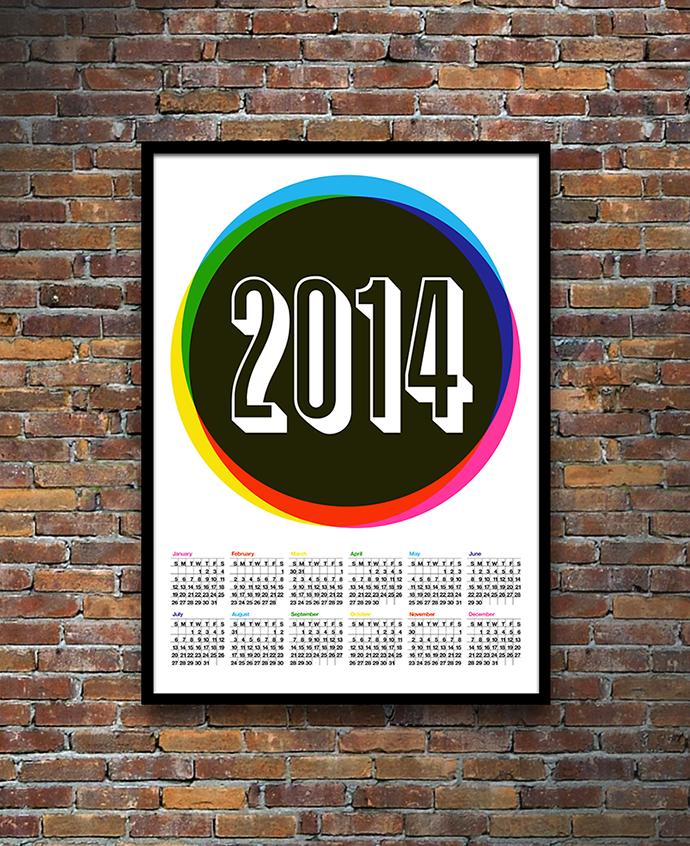 COLOUR 2014 CALENDAR 1